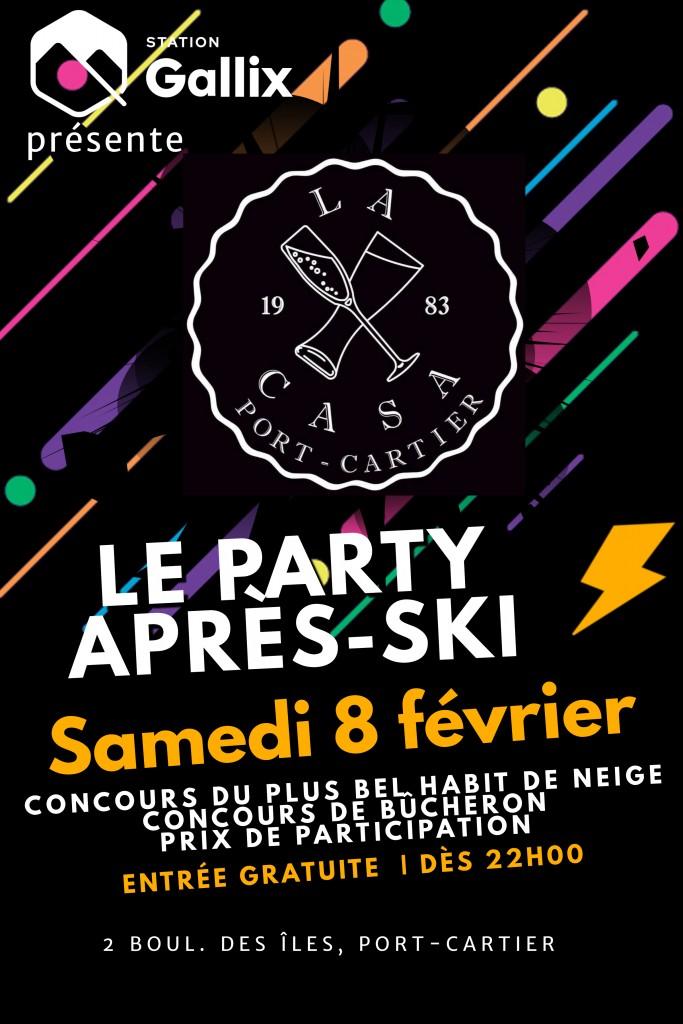 APRÈS-SKI 08-02-2020