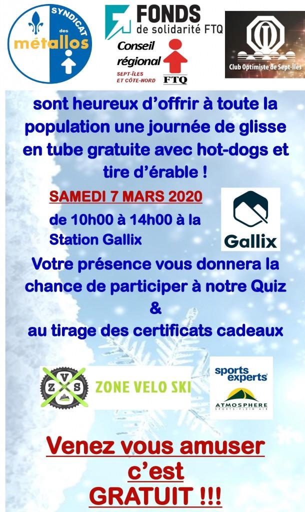 Affiche Gallix Metallos 2020